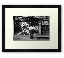 THE TRAGIC KINGDOM Framed Print