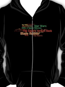 The Top 25 Sci-Fi Films of All Time T-Shirt
