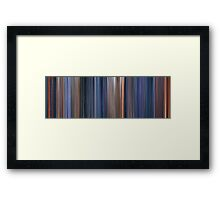 Moviebarcode: Terminator 2: Judgment Day (1991) Framed Print
