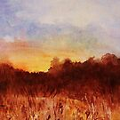 Landscape Water colour by BeenaKhan