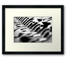 Forking Crazy Framed Print