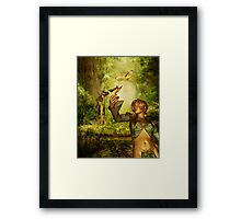 Summer incarnation Framed Print