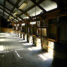 Historic Mooloomoon Shearing Shed by Julie Sleeman
