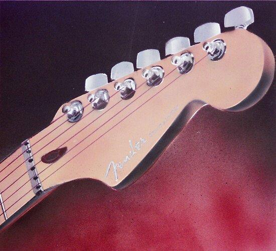 Fender Headstock by Shane Highfill
