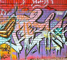 urban graffiti  by Medeu
