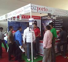 INR 750 package of bizporto getting attention at Global Maharashtra Conference and Trade Fair by bizporto