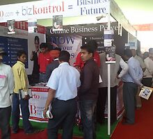 bizporto booth offering bizkontrol by bizporto