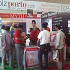 bizporto booth demystifying the myth at Global Maharashtra Conference and Trade Fair by bizporto