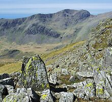 Scafell from Crinkle Crags by Blagnys