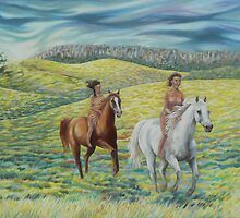 Riding through generations by maria paterson