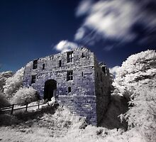 Whorlton Castle (IR) by PaulBradley
