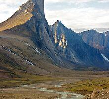 Thor Peak - Auyuittuq National Park by Phil McComiskey