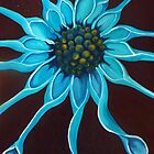 Blue flower by Samantha Aplin