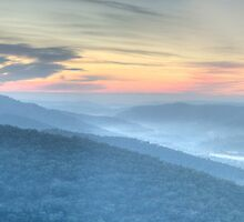 Merlins View - Merlins Lookout, Hill End - The HDR Experience by Philip Johnson