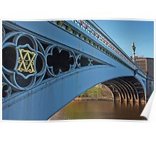 Lendal Bridge on the River Ouse  Poster