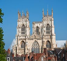 York Minster from across the rooftops by jackcousin