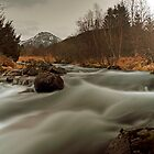 Spring river by Frank Olsen