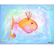 Mummy and kiddyfish Photographic Print