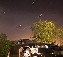 Vorsprung durch star trails by Shaun Whiteman