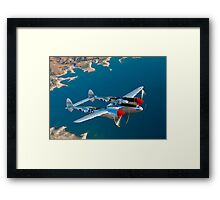 P-38 Lightning Framed Print
