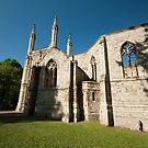 Anglican Chapel Nunhead Cemetery  by John Hare