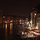 Venice view from Rialto bridge by Sergey Martyushev