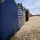 Beachhuts 2 - Southwold, Suffolk. by Adam North