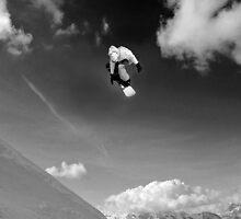 snow boarder by neil harrison