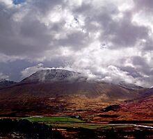 glen coe scotland by rossmiller