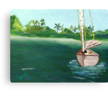 Don't Rock The Boat......................... Canvas Print