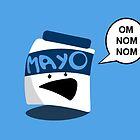 Evil Mayo Jar of Doom by jonezajko