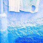 Chefchaouen Washing by Beth Jennings