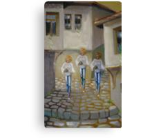 Tripple vision Canvas Print