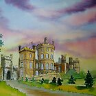 Belvoir castle by Lynn Norris