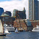 Lively Boston Harbour by Lee d'Entremont