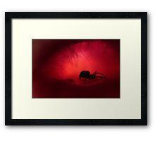 Ethereal Pink Cavern II Framed Print