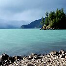 Harrison Lake-British Columbia by Valerie Henry