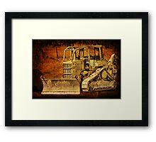 Earth Mover Framed Print