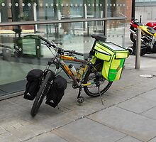 Bicycle Ambulance by Adam Angold