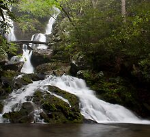 Middle Catawba Falls by Forrest Tainio
