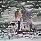 &#x27;Portrait of a Wensleydale Barn&#x27; by Martin Williamson (cobbybrook)