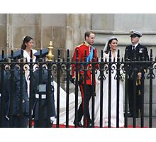 PRINCE WILLIAM AND CATHERINE MIDDLETON  Photographic Print