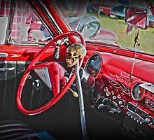 Red Hot Chilli Chevy by LJ_©BlaKbird Photography