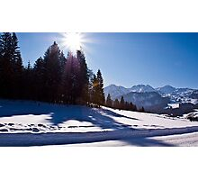 Snowscape II Photographic Print