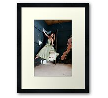 how i learned to stop worrying and love levitation Framed Print