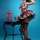 """Kiss"" Pin up Girl  by Laura Balc Photographer"