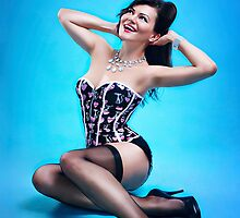 Retro Pin up Girl  by Laura Balc Photographer