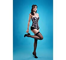 """""""Strike a pose"""" Pin up Girl  Photographic Print"""