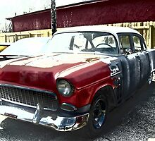 Old 55 Chevy by Charldia