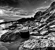 Rocky Heads Of Point Lonsdale by shadesofcolor